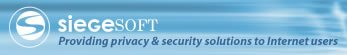 SiegeSoft.com | providing privacy and security solutions for Internet users